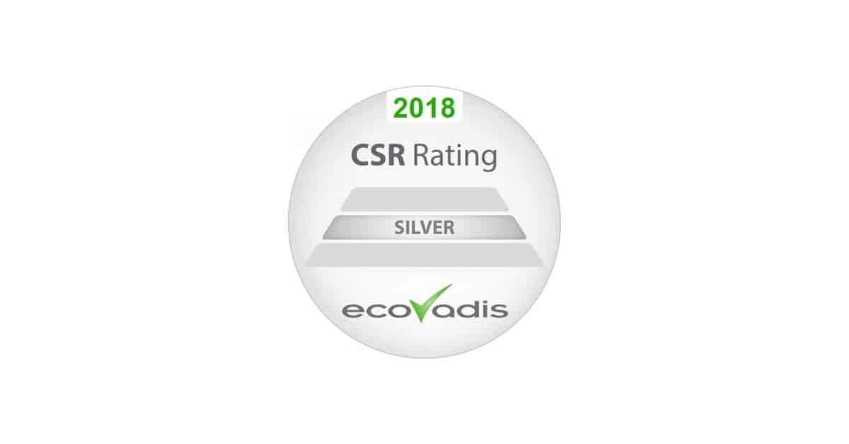 EcoVadis CSR award- Kronos Group