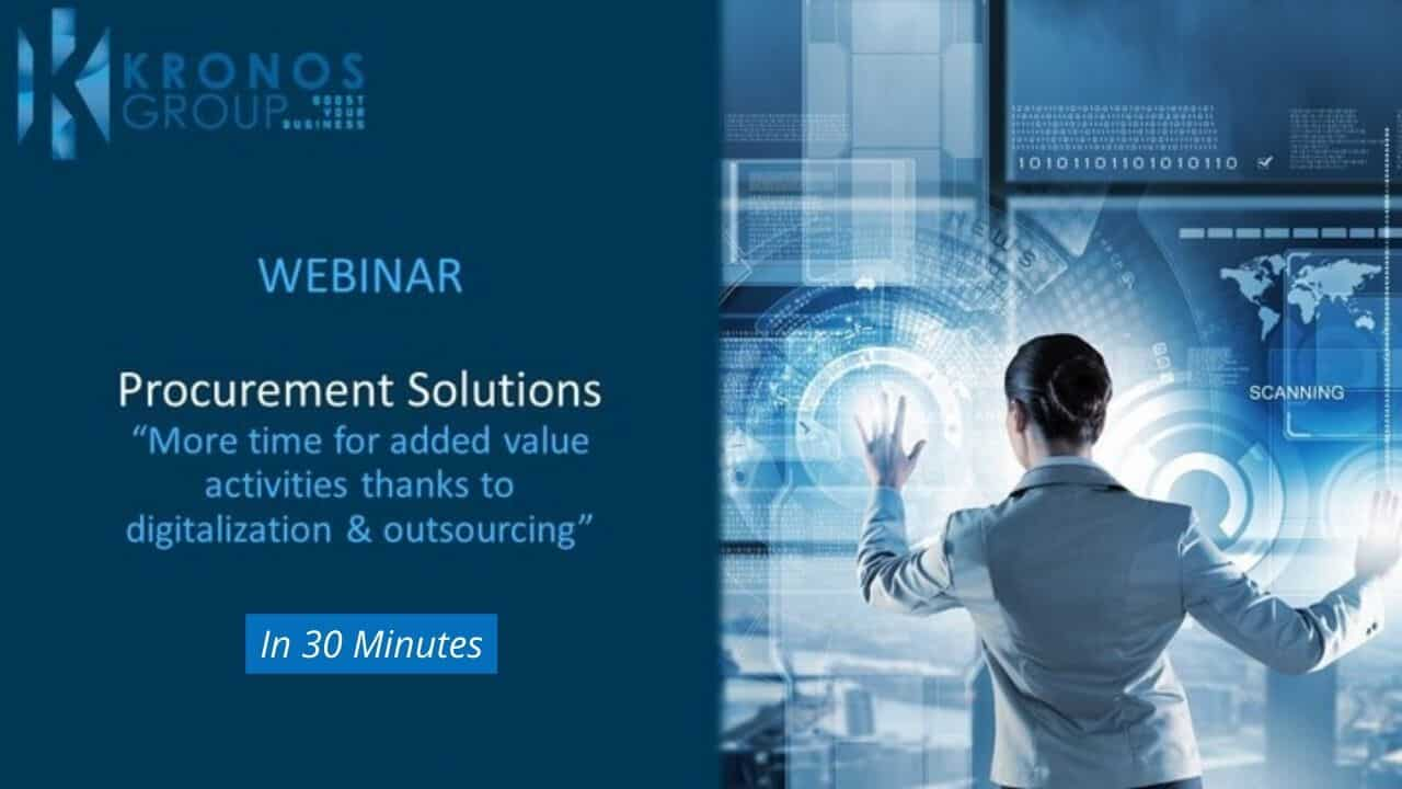 Webinar Kronos Group Contract management solution