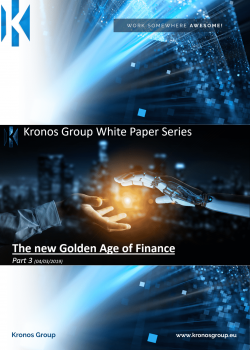 The new golden age of finance